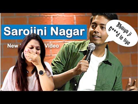 Sarojini Nagar   Excuse Me Brother   Stand-Up Comedy by Aakash Gupta