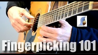 Fingerpicking 101 - Guitar Lesson