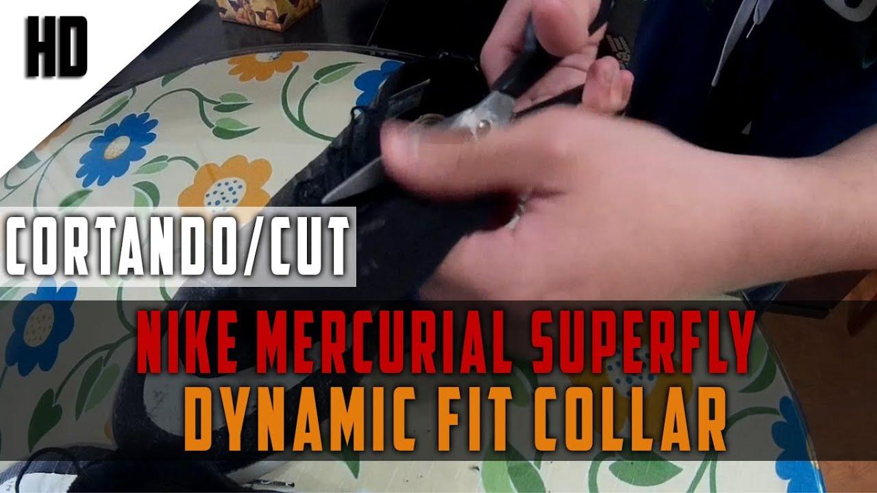 Cortando/Cut Dynamic Fit Collar Nike Mercurial Superfly Vortex IC | Replica Aliexpress