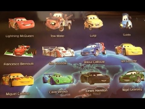 All The Cars Names In The Movie Cars