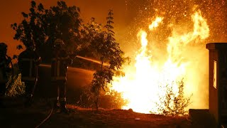 France: Firefighters struggle to battle blazes across the south of the country