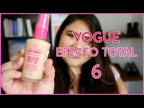 Reseña Base Vogue efecto total 6 | Reseña bases colombianas - Vanessa Bacca