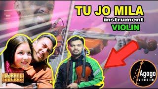 """TU JO MILA _ Agogo Violin """"Cover Instrument"""