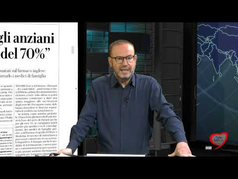 I giornali in edicola - la rassegna stampa 25/01/2021
