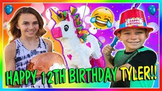 TYLER'S 12TH BIRTHDAY   We Are The Davises