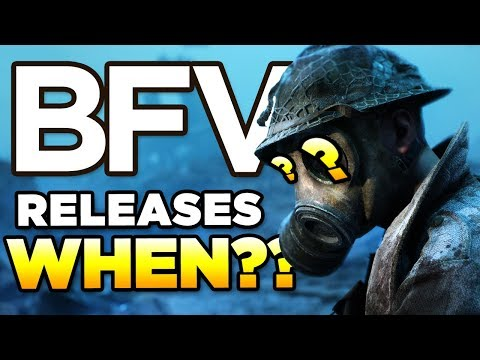 BFV RELEASES WHEN?? and HOW? | BATTLEFIELD V Launch Week thumbnail