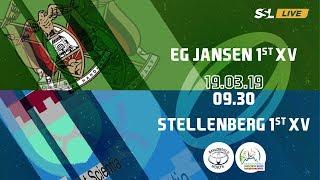E.G. Jansen 1st XV vs Stellenberg 1st XV - Noord Suid Rugby Toernooi
