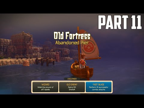 Oceanhorn: Monster of Uncharted Seas - 100% Walkthrough Part 11 [PS4] –  Old Fortress