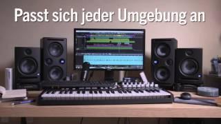 PreSonus Eris E44 und E66 MTM-Studiomonitore—Auf Deutsch