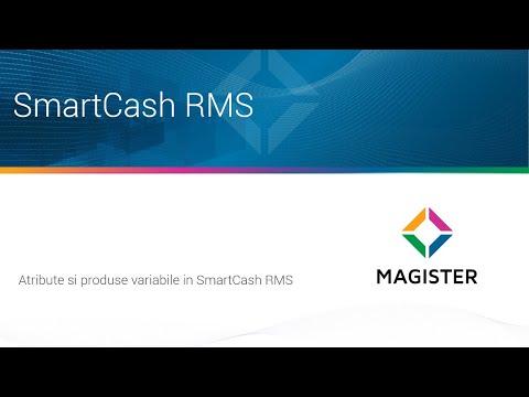 Atribute, Produse Generice si Produse Variabile in SmartCash RMS
