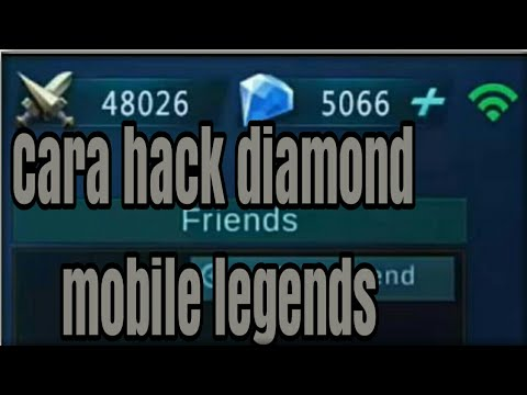 Cara Cheat Diamond Mobile Legends No Root Youtube