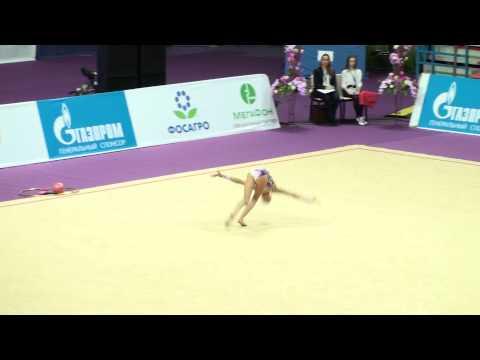 Аверина Дина, обруч, Художественная гимнастика