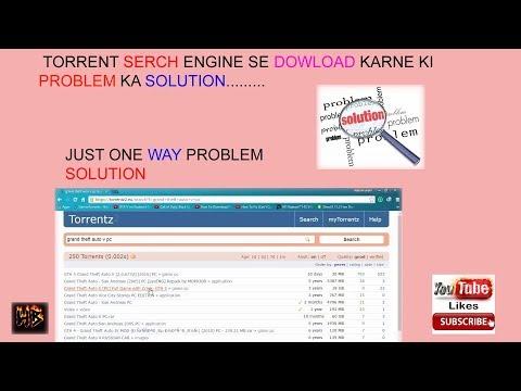HOW TO SOLUTION TORRENTZ DOWNLOADING...