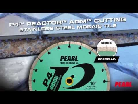 Pearl® ADM Porcelain Blade Cutting Stainless Steel Mosaic Tile