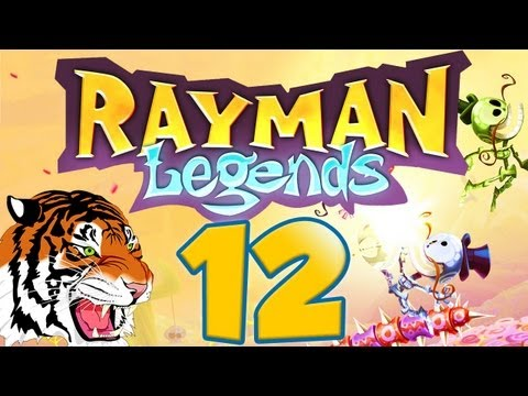 Let's Play Rayman Legends - Part 12 - Eye of the Tiger