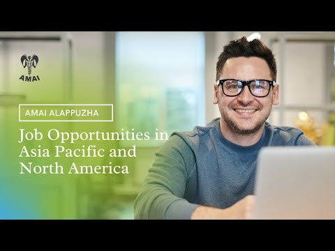 Job Opportunities in Asia Pacific and North America