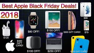 BEST APPLE BLACK FRIDAY 2018 DEALS! | APPLE WATCH, iPHONES, HOMEPOD, AIRPODS & MORE!
