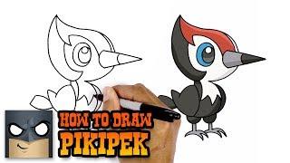 How to Draw Pikipek | Pokemon (Art Tutorial)