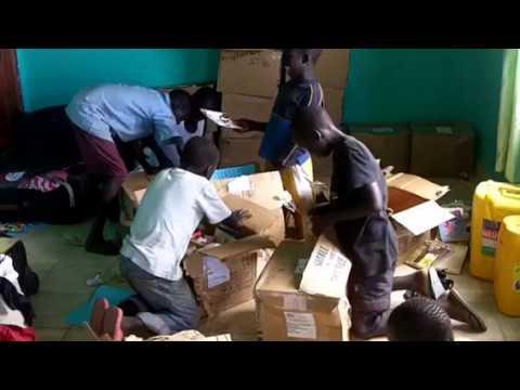 Library in South Sudan - Cornerstone Children's Home