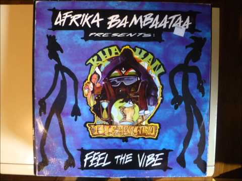 Afrika Bambaataa - Feel The Vibe