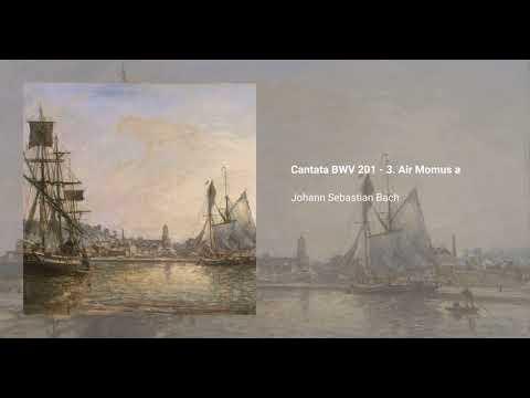 Cantata BWV 201 - 3. Air Momus a