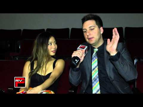 Actress Michelle Ang  at Asians On Film Film Fest 2014