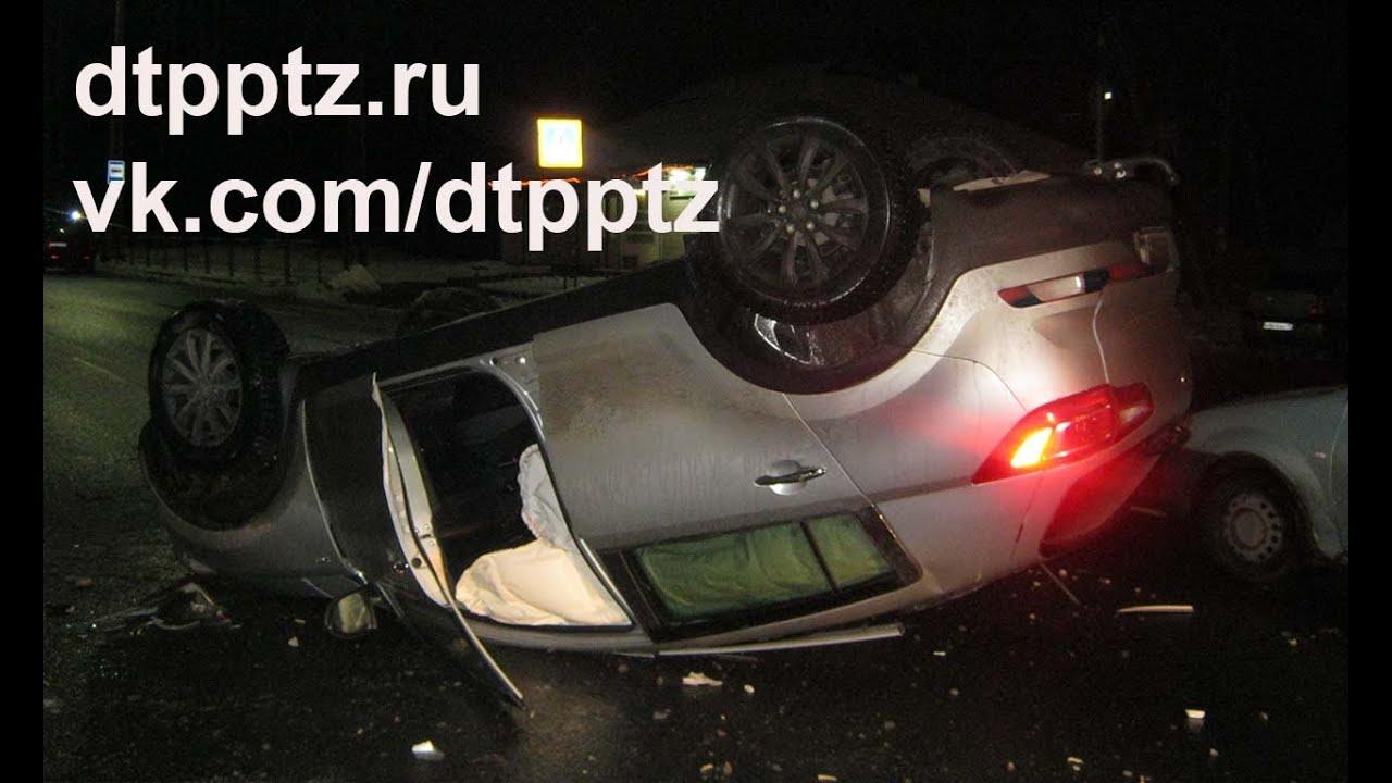 Нетрезвый водитель опрокинулся, уходя от полицейской погони