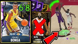 FAN FAVORITE AMETHYST ISAAC BONGA *EXPOSES* GALAXY OPAL HARDEN! BEST BUDGET PG IN MYTEAM! NBA 2K20