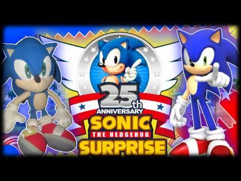 ABM: SONIC THE HEDGEHOG 25th ANNIVERSARY SURPRISE!! *Music * HD