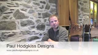 Paul Hodgkiss Designs Rouken Glen Park Reception Desk October 2013.