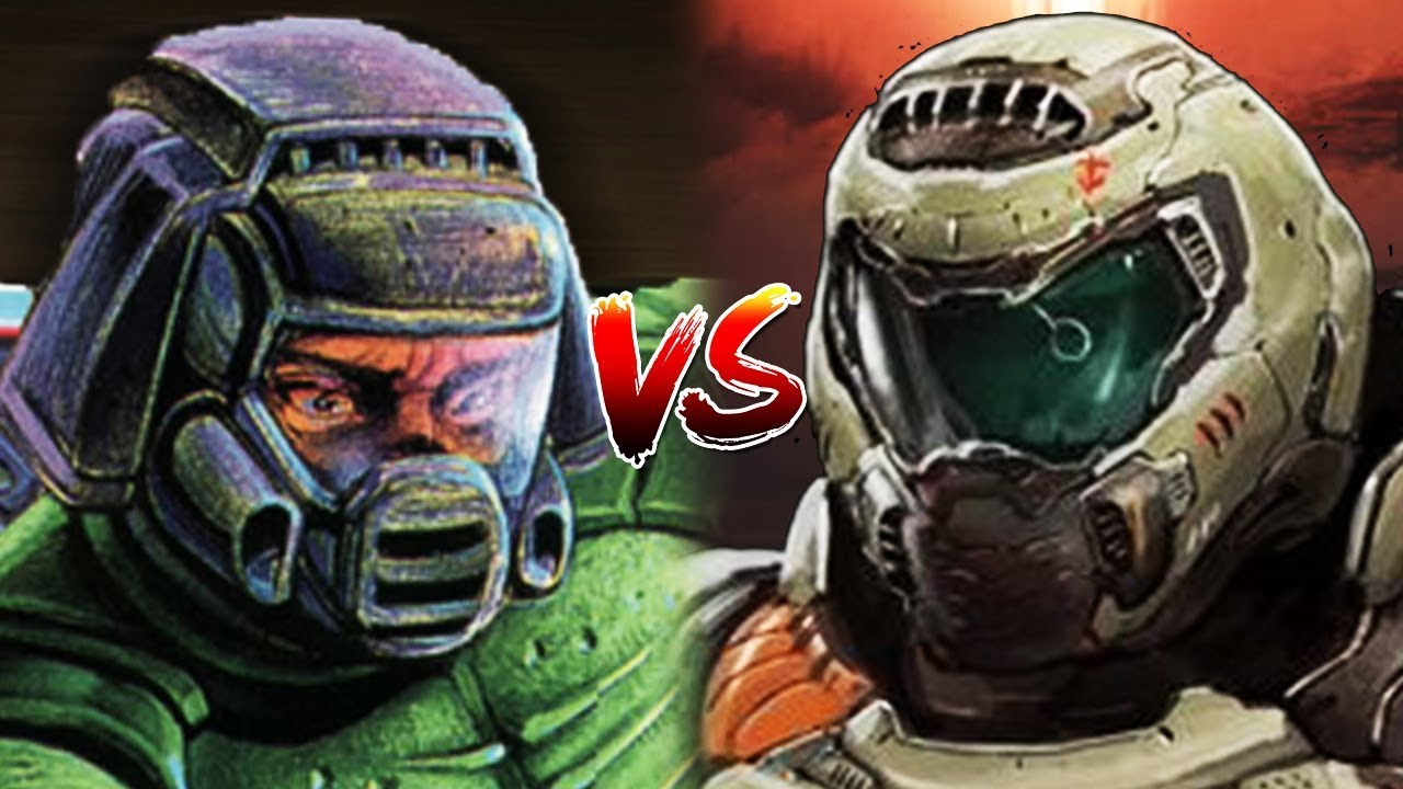 The Doom Slayer Vs Doomguy Youtube