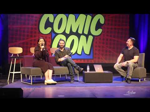 Hayley Atwell And Charlie Cox Marvel Panel Wales Comic Con April 2019 | Airlim