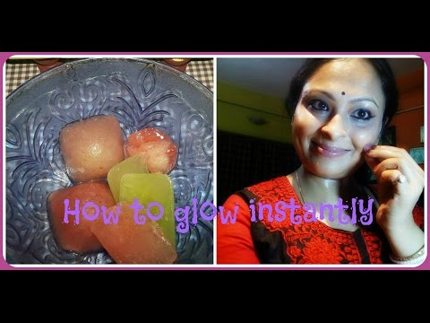 How to get glow skin instantly/Titbits of life