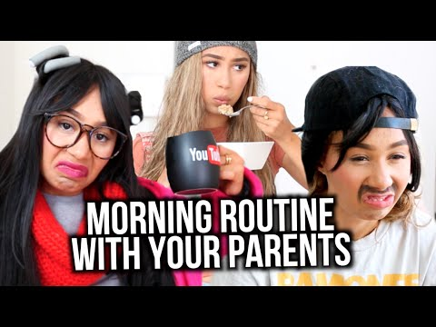 Morning Routine! Living With Parents Edition | MyLifeAsEva