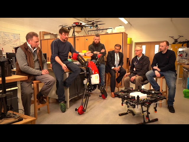 Covid-19 Drone Disinfection Spraying Debate