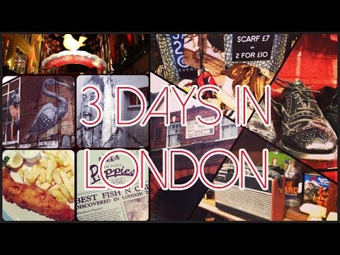 Travel vlog: 3 days in London and Brighton
