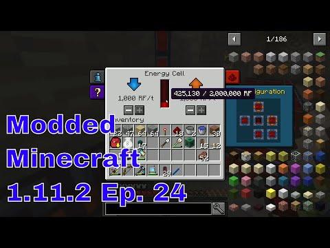 Modded Minecraft 1 11 2 Ep  24 Net Power Gain!