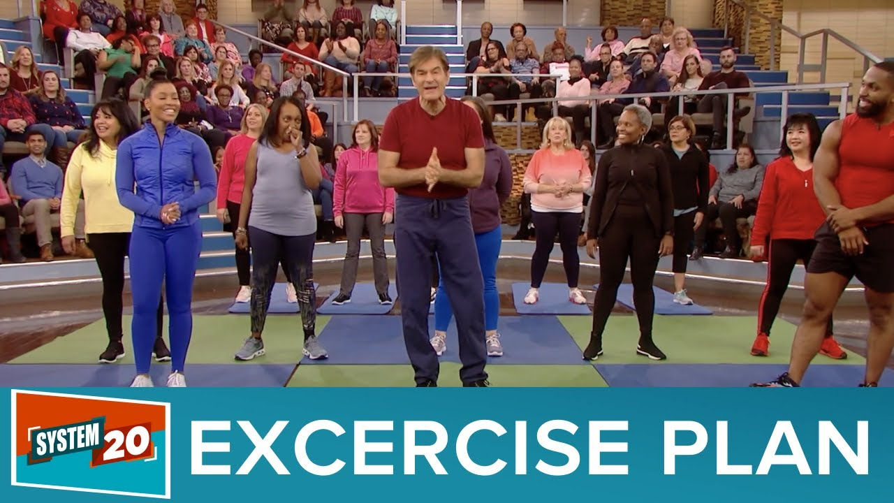 Dr Oz System 20 Lose 20 Lbs With These Excercises Take Control Of Your Health In 2020 Youtube