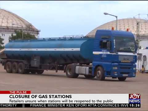 Closure of Gas stations PT2 - The Pulse on JoyNews (18-10-17)