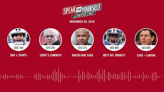 SPEAK FOR YOURSELF Audio Podcast (11.29.18)with Marcellus Wiley, Jason Whitlock | SPEAK FOR YOURSELF