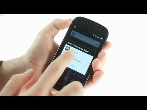 Google Nexus S user interface