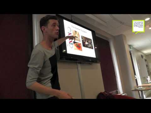 The London School of English sample lecture 'Sweeny Todd' by Lee Arnott (full length)