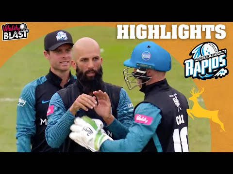 Match Tied In Incredible Drama! | Worcestershire v Notts - Highlights | Vitality Blast 2021
