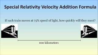 moving faster than the speed of light? special relativity velocity addition formula
