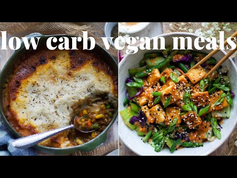 LOW CARB VEGAN RECIPES [EASY AND HEALTHY VEGAN MEALS] | PLANTIFULLY BASED
