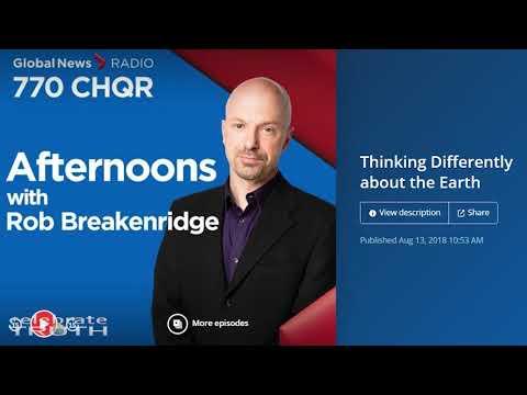 FLAT EARTH TALK w/ Robbie Davidson on Global News Radio Calgary