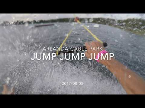 Wakeboard cable jumps