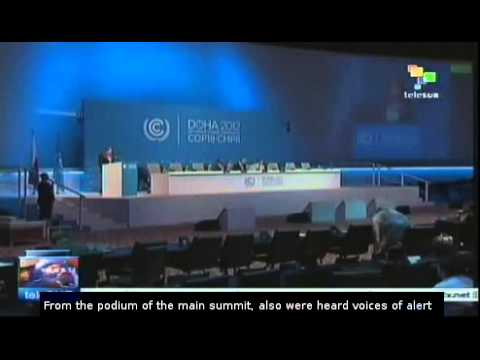 Climate change negotiations remain stalled in Doha