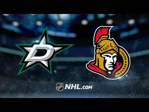 Dallas Stars vs Ottawa Senators – Oct.15, 2018 | Game Highlights | NHL 18/19 | Обзор матча