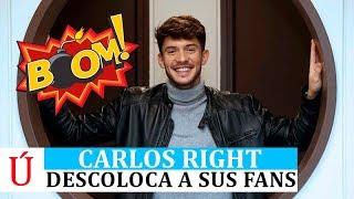Carlos hace borrón y cuenta nueva y descoloca a sus fans al salir de Operación Triufo 2018